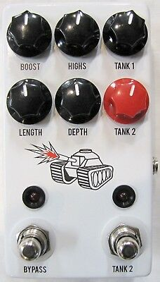 - Used JHS Spring Tank Reverb Guitar Effects Pedal!