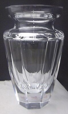 Moser Crystal Eternity Vase Clear NEW