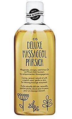 Deluxe Massageöl wärmend, Pfirsich Aroma, 250 ml Erotik Massage Öl