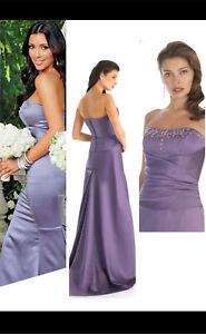 Kim Kardashian Bridesmaid Grad Prom Dress will fit size 12-14