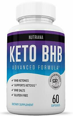 KETO BHB Advanced Weight Loss Diet from Shark Tank, Keto Pills NUTRIANA