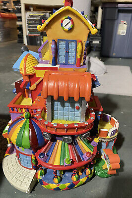 Ebay And Paypal Promotional Light Up House  extreme rare signed
