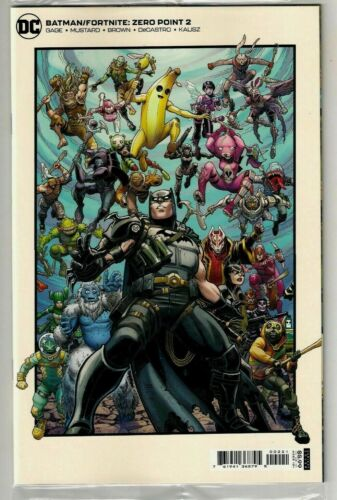 Batman Fortnite Zero Point #2 B Cover W/ Zero Wing Glider Code 1st Print DC 2021