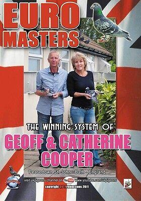 GEOFF & CATHERINE COOPER racing pigeons DVD