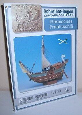 + KARTONMODELLBAU  Römisches Frachtschiff SCHREIBER-BOGEN 561