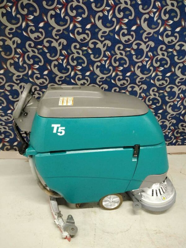 """Tennant T5 28"""" floor scrubber with NEW batteries and FREE shipping"""