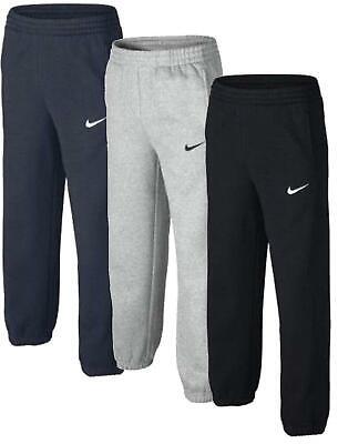 Nike Boys Fleece Joggers Kids Tracksuit Jogging Bottoms Sport Running Sweatpants