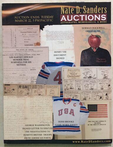 NATE SANDERS 2011 CATALOG POP ICONS, ENTERTAINMENT, SPORTS, NASA PEANUTS COINS