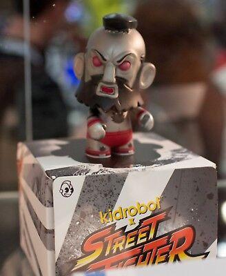 Street Fighter V Capcom KidRobot Mini Figures Zangief 3//40 Rarity