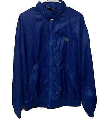 IZOD LACOSTE JACKET XL MEN BLUE MOUNTAINEER