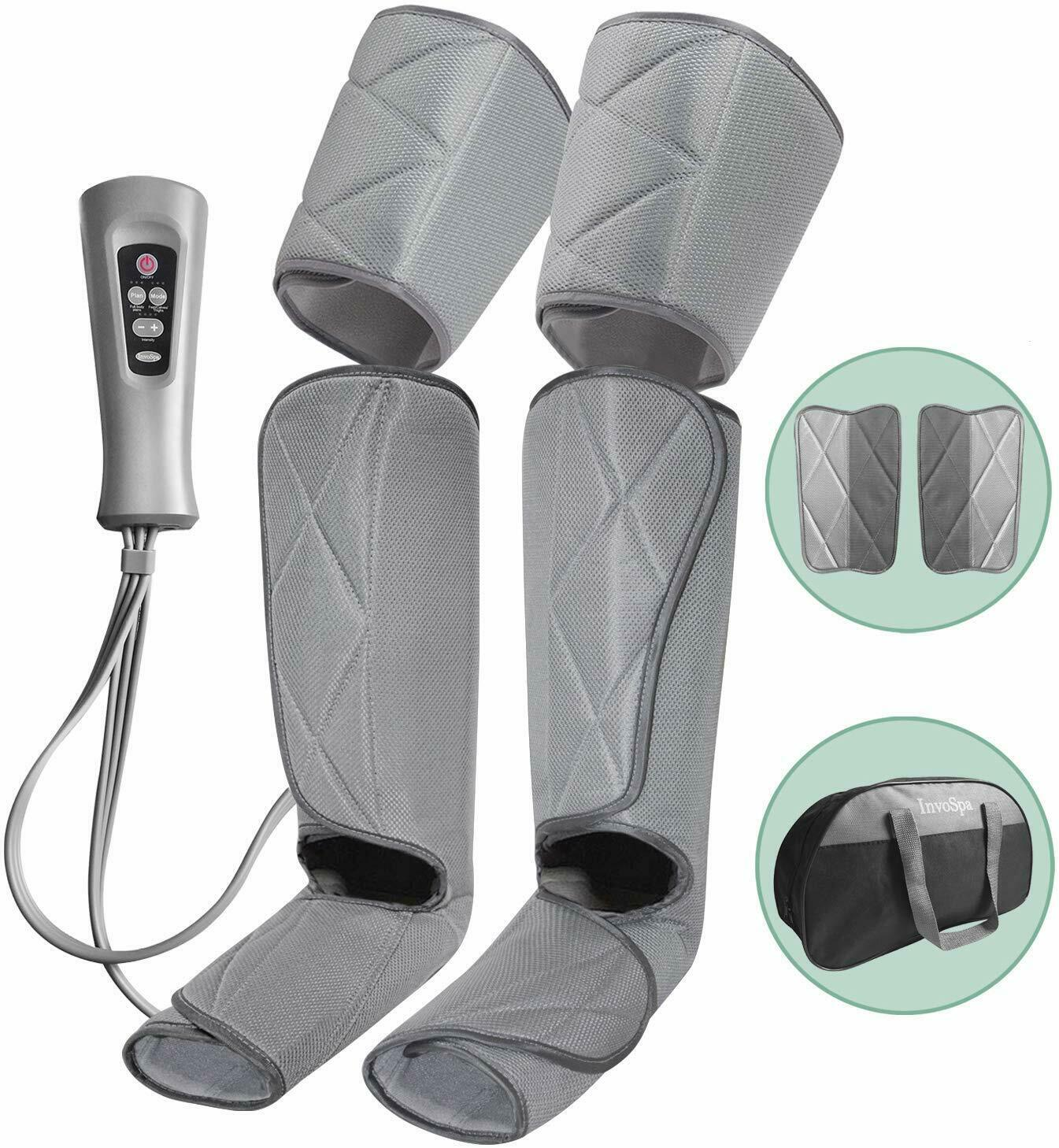 Leg, Foot, Calf Massager for Circulation With Remote Easy Ho