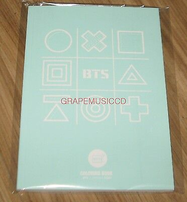 BANGTAN BOYS BTS 방탄소년단 3RD MUSTER ARMY.ZIP+ OFFICIAL GOODS COLORING BOOK SEALED