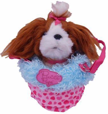 Pucci Pups Flopeez Shih Tzu Puppi Dog Plush Stuffed Pal 7 Pcs Stuffed Shih Tzu