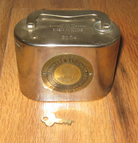 Vtg Bankers Service Corp Farmers National Coin Bank Interest Department Key Rare