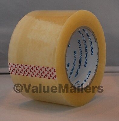 Tape 3 X 330 2.5 Mil 12 Rolls Quality Packaging Box Carton Sealing 3x110 Yds