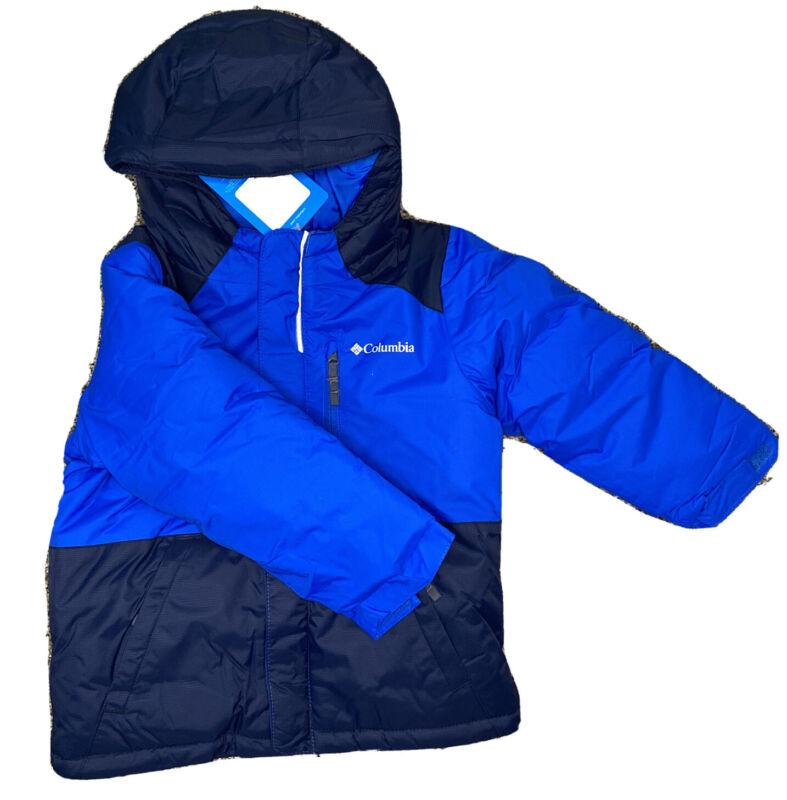 NWT 3T Columbia Toddler Boys Lightning Lift Winter Snow Jacket New Blue