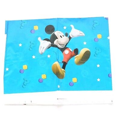 Mickey Mouse Plastic Table cloth Disposable Birthday Party Disney Tablecloth