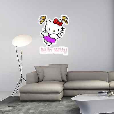 Hello Kitty Kids Room Cartoon Wall Decor Sticker Decal 20