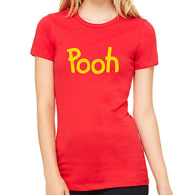 Pooh printed T-shirt Winnie the Pooh Halloween Costume Shirts Adult Kid cosplay - Winnie The Pooh Halloween Costumes Adults
