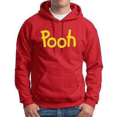 Pooh printed Hoodie Winnie the Pooh bear Halloween Costume Sweatshirts Mens - Winnie The Pooh Halloween Costume
