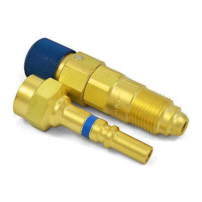 Argon Inert Gas Regulator To Hose Quick Connectconnector Disconnect Set Qdb33