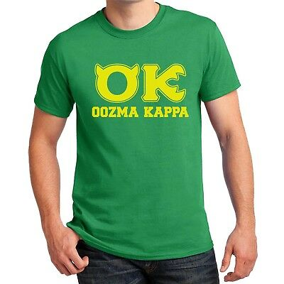Oozma Kappa T-shirt Squishy Mike Wazowski Halloween Costume Men Kids Women sizes