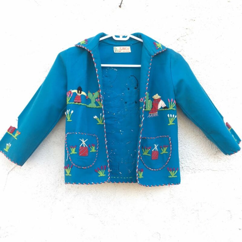 Vintage Child's Mexican Handmade Jacket