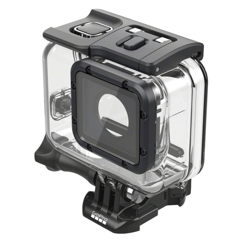 GoPro Super Suit Protection + Dive Housing for Hero7, Hero6, Hero5 - Clear/Black