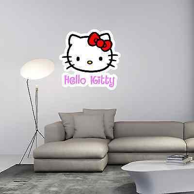 Hello Kitty Kids Room Cartoon Wall Decor Sticker Decal 25