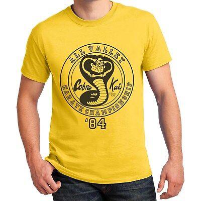 Cobra Kai Halloween Costume (Cobra Kai Karate Kid T-shirt Halloween Costume Shirts Adult Kid baby)
