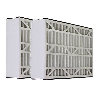 Skuttle 20x20x5 Merv 13 Replacement AC Furnace Air Filter (2 Pack)
