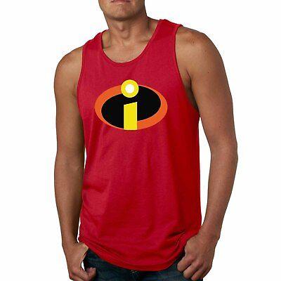 The Incredibles Tank Top Disney hero Halloween Costume Mens Ladies Sleeveless