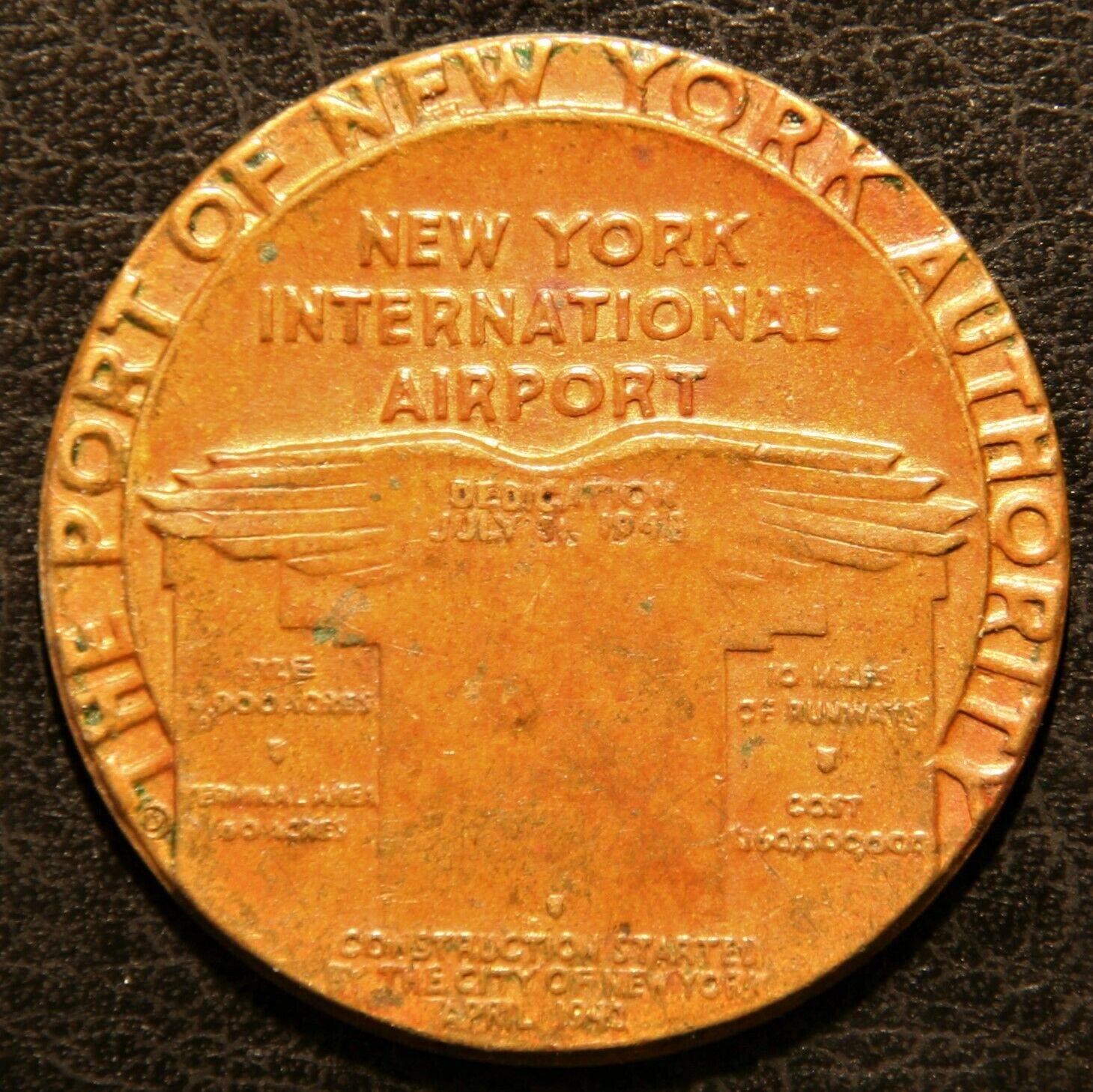 1948 International Airport Dedication Medal Kilenyi - So-Called Dollar HK-499 - $27.95