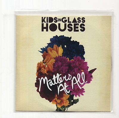 (JB842) Kids In Glass Houses, Matters At All - 2009 DJ