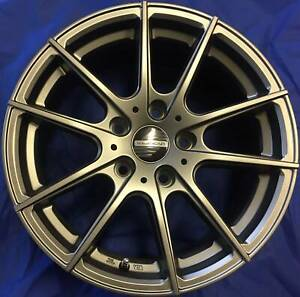 SET OF FOUR (4) AUSCAR 18x8 5/120 et42 TRAK Blacktown Blacktown Area Preview