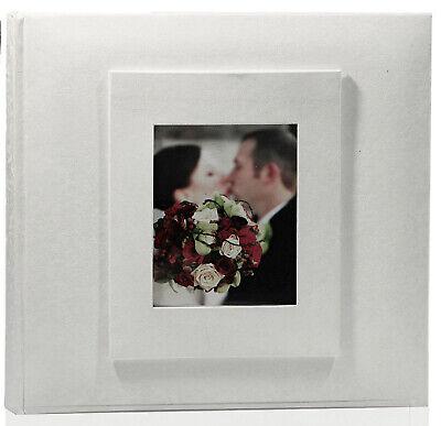 4x6 Archival Album (White Bi-Directional Archival Photo Album - 200 Photos - 4