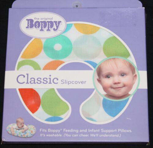 Boppy Classic Slipcover Gum Drops Multi Color nursing pillow cover new in pkg