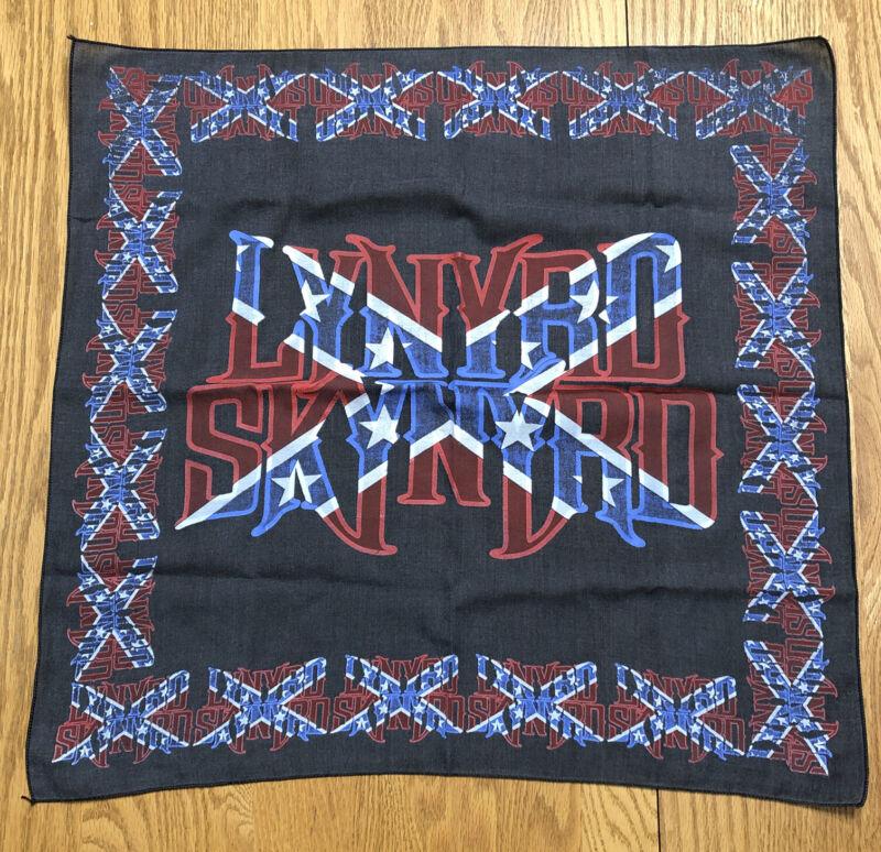 Vintage LYNYRD SKYNYRD Band Bandana Southern Rock & Roll