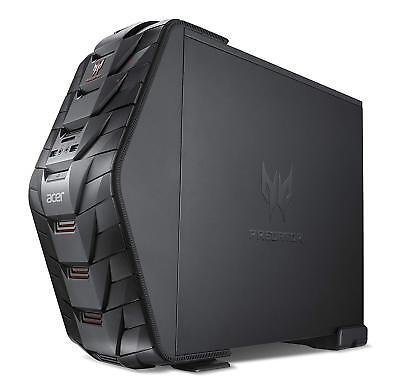 Acer Predator G3 Gaming Desktop PC Computer Micro ATX Case with hot swap bay
