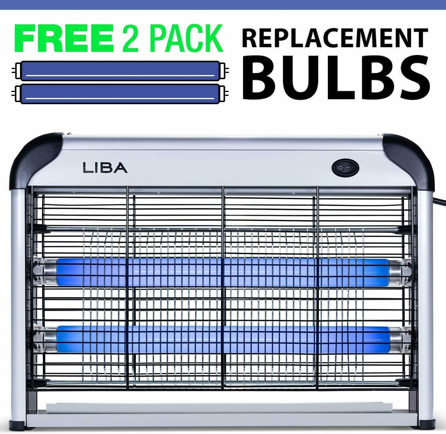 Best NEW INDOOR BUG ZAPPER ELECTRIC INSECT FLY PEST BUG GNAT AND MOSQUITO TRAP