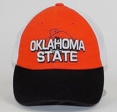 wholesale dealer 88641 6ccca Top of the World OKLAHOMA STATE COWBOYS Embroidered Mesh Slouch Snapback Cap  Hat