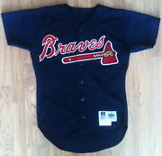 Game Worn Atlanta Braves Jersey