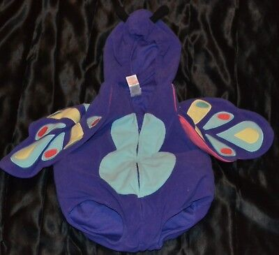 The Purple Bug Outfit Halloween Costume Fits Kids Size 3-4-5-6 Months Girls Baby - Infant Bug Costume
