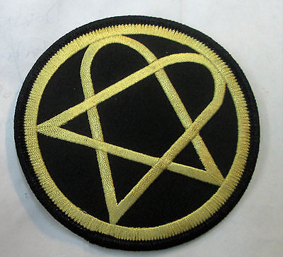 HIM COLLECTABLE RARE VINTAGE PATCH EMBROIDED 2000'S METAL LIVE A