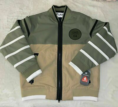 NWT Under Armour Primaloft Tim Coppens Bomber Jacket UAS Olive/Khaki SMALL $450