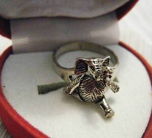 Lovely Sterling Silver Elephant Ring Wagga Wagga Wagga Wagga City Preview