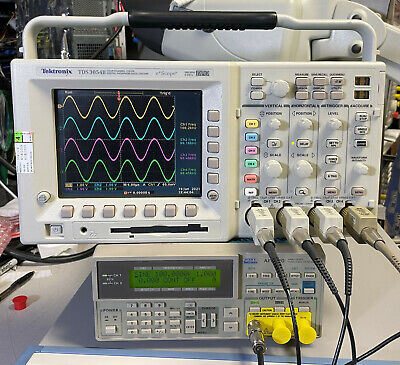 Tektronix Tds3054b 4 Ch Dpo Oscilloscope 500mhz 5gsas Tds3gv Options