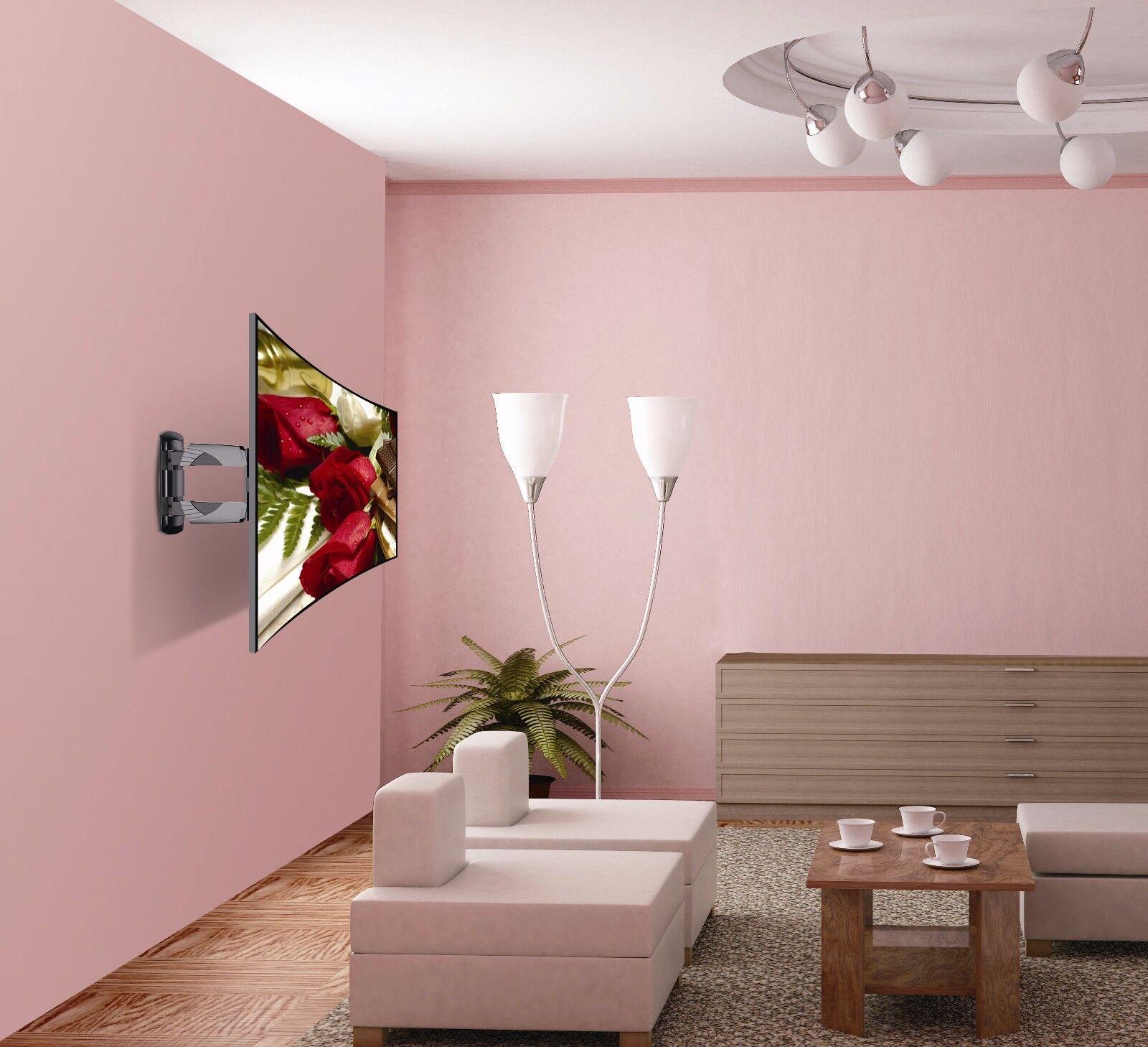 TV Wall Mount Swivel Tilt Full Motion 32 37 39 40 42 43 46 47 Inch LED LCD Flat