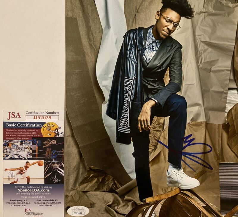 Masego Signed Autographed 8x10 Photo Tadow Lady Lady JSA COA