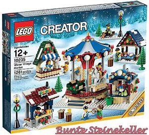 LEGO® Exklusiv: 10235 Winterlicher Markt & 0.-€ Versand & OVP & NEU